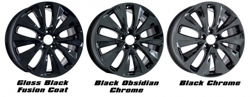 calchrome black versus black chrome