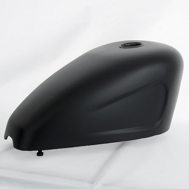 flat black gas tank | calchrome