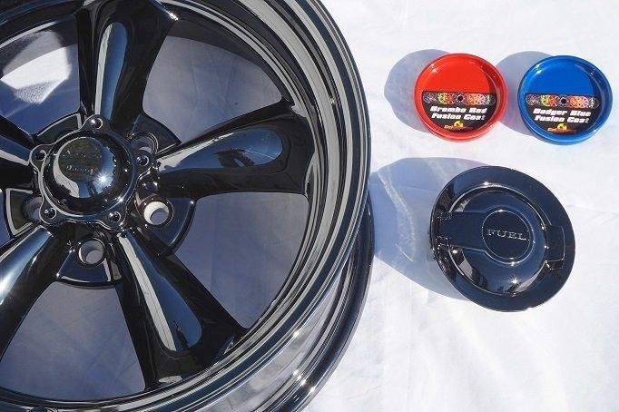 Gloss black powder coat wheel comparison