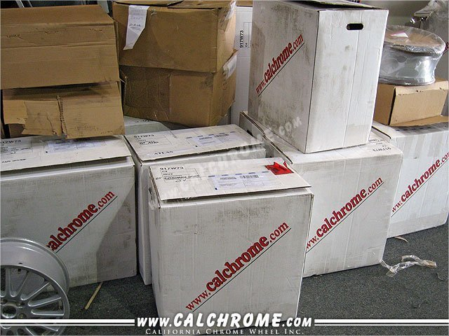 RECEIVING - Individual Orders Individually shipped orders are received daily through ground delivery services.