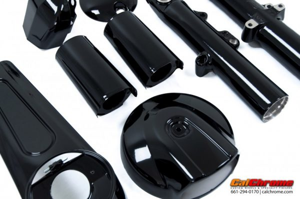 calchrome black fusion coat parts