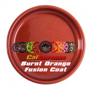 burnt orange fusion powder coat wheels