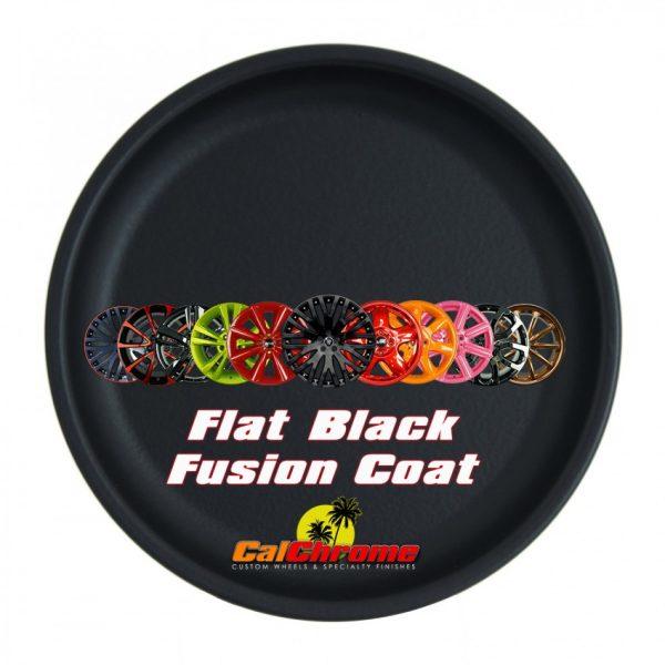 flat black color sample disk fusion powder coat