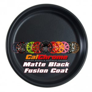 matte black fusion powder coat disk