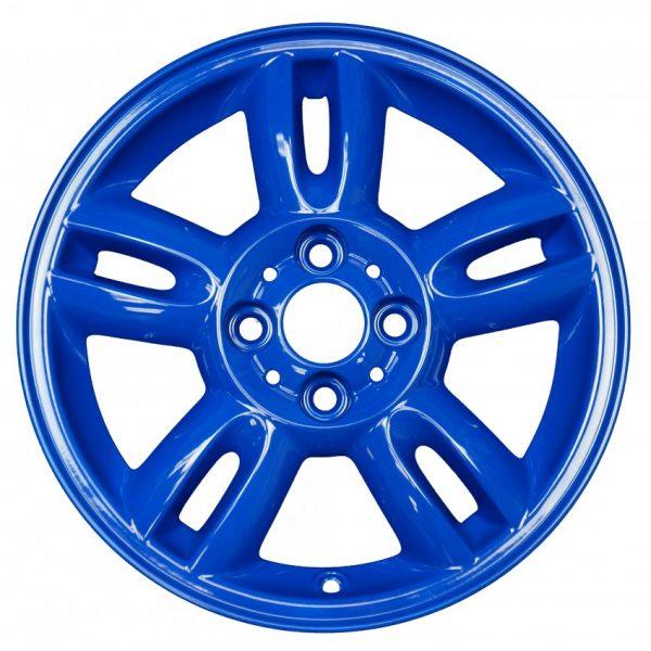 dodger blue color sample wheel