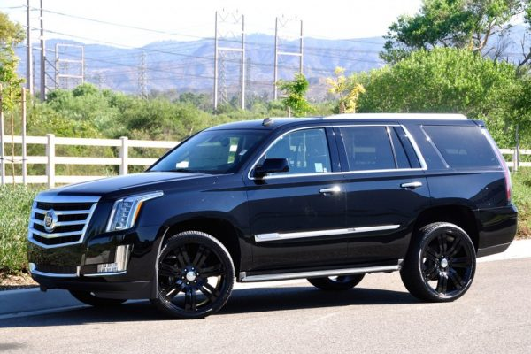 gloss black escalade wheels