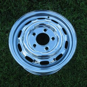 rechrome steel wheel