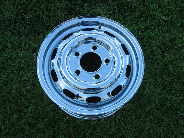 rechrome steel wheel