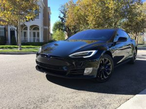 tesla model s in our blackout package