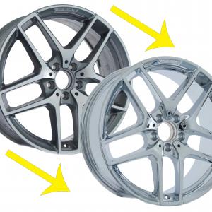 chrome wheel exchange