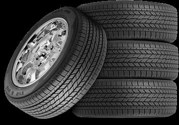 chrome tire stack