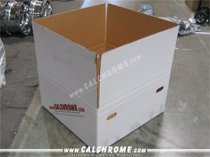 6. Custom made double walled boxes.