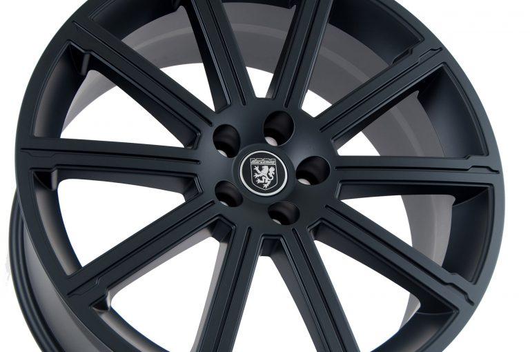 matte black wheels for land rover calchrome