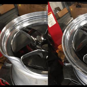 Bent Wheel Rim repair santa clarita