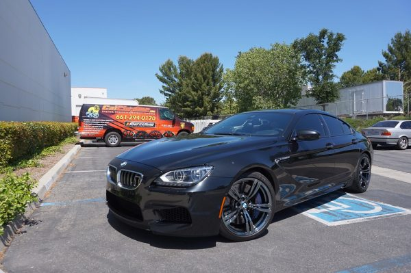 black chrome plating bmw