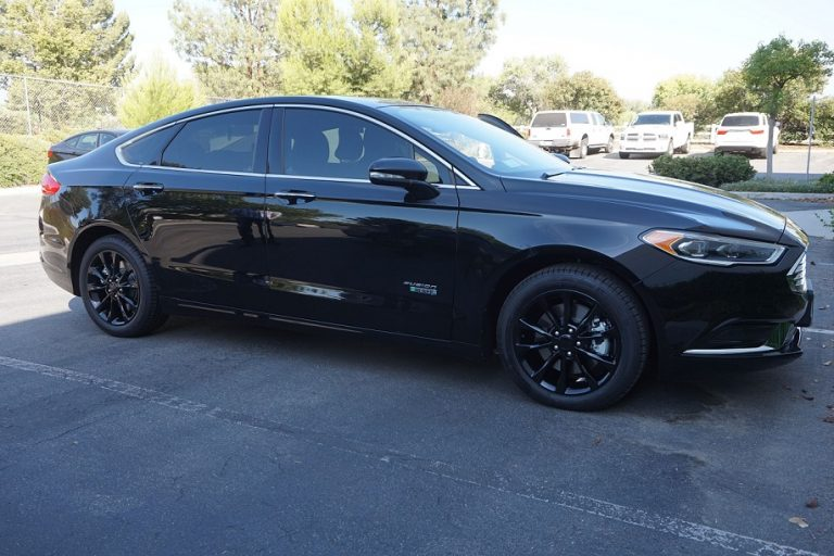 black ford fusion rims wheels