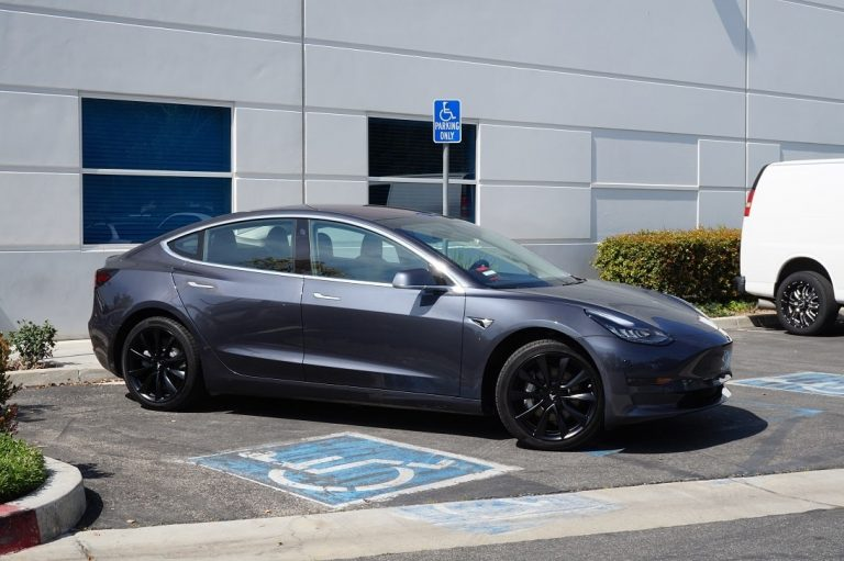 black wheels for tesla model 3