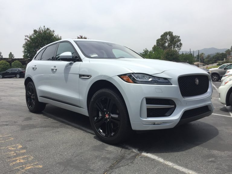 calchrome jaguar e-pace black wheels