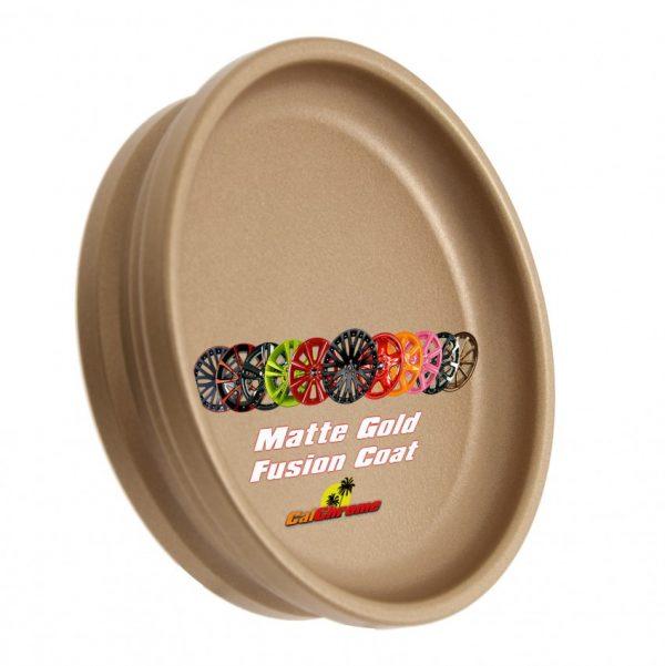 powder coat matte gold sample disk