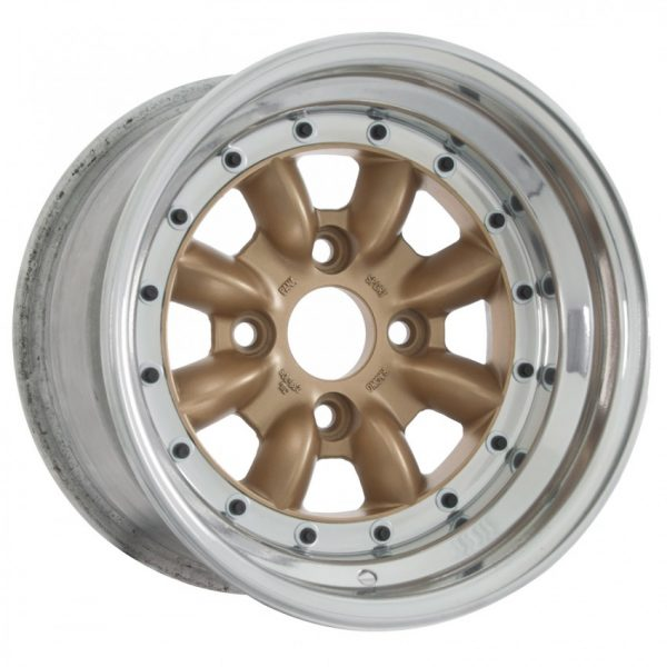 calchrome gold steel wheel