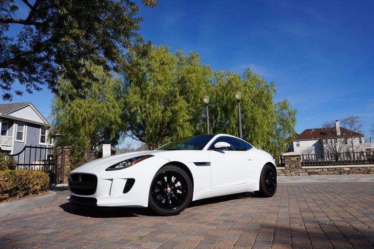 jag f type black wheels
