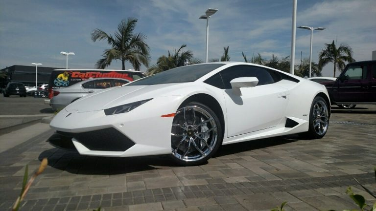 lamborghini chrome wheels