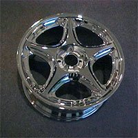 Two-Piece Assembled Aluminum Alloy Wheel