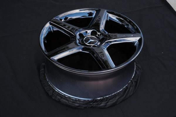 wheels black chrome calchrome