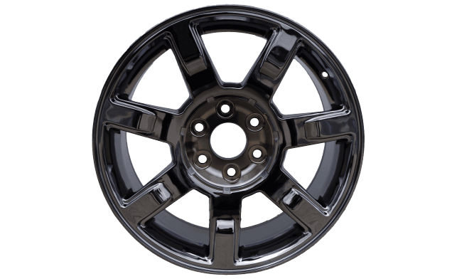Black Chrome Wheel cost