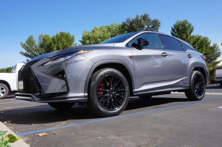 blackout package or chrome delete for lexus with black trim by calchrome