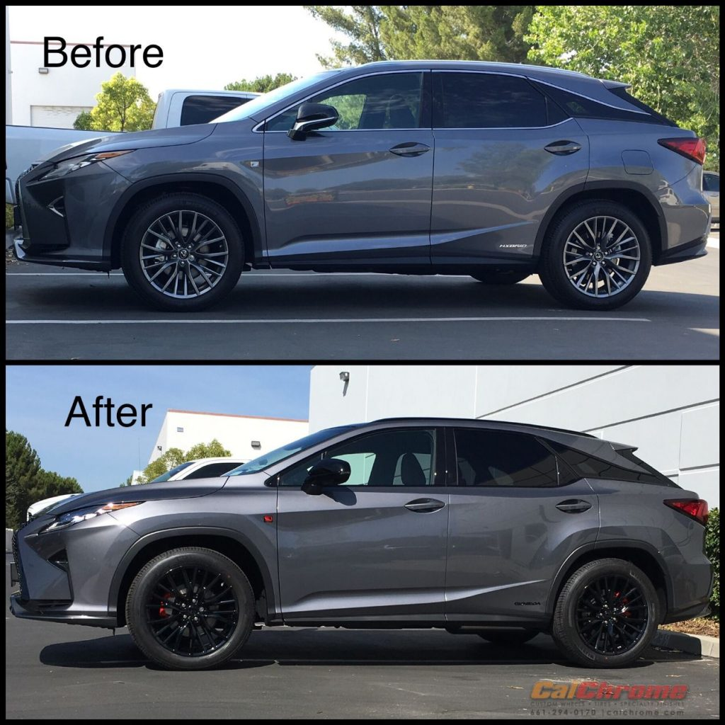before and after chrome delete
