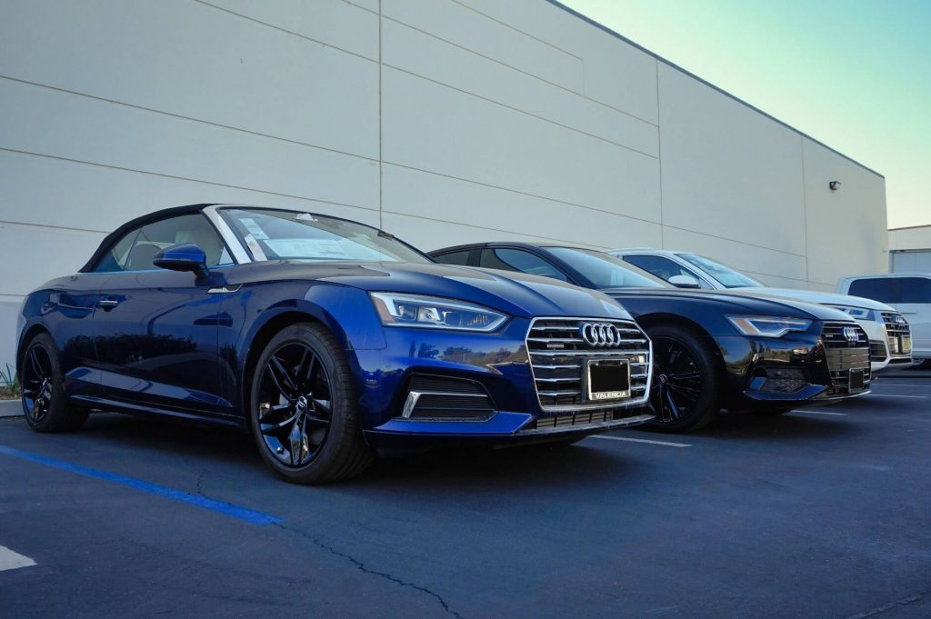 fusion powder coating for audi by calchrome