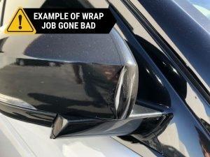 BAD CAR WRAP THREE