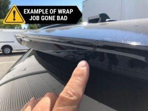 BAD CAR WRAP TWO