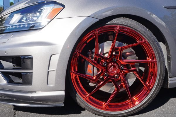 candy red chrome by calchrome