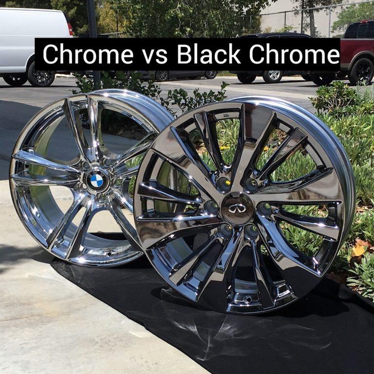 black chrome vs chrome