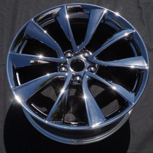 Black Chrome Tesla Wheel