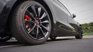 Tesla Fusion Powder Coated Wheels