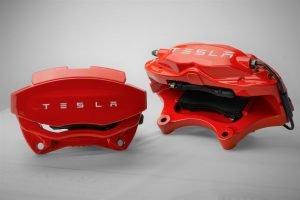 Tesla Brake Caliper Finish Upgrade