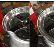 Bent Wheel Rim repair santa clarita