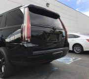 calchrome black out chrome delete cadillac escalade