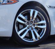 jaguar chrome plated wheels
